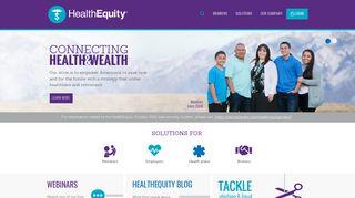 HealthEquity - Building health savings