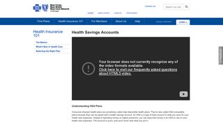 Health Savings Accounts   Health Insurance 101   bcbsm.com