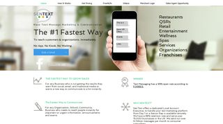 Sentext Solutions #1 Fastest Mobile Reach, Text Marketing