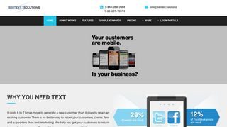 Sentext Solutions: Text and SMS Marketing Services for Businesses