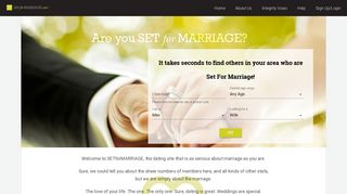 SETforMARRIAGE: Online Dating for Serious Relationships & Those ...