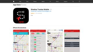 Shadow Tracker Mobile on the App Store - iTunes - Apple