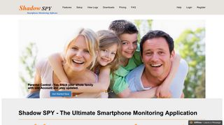 Spy on mobile activities using Shadow SPY - call, sms, whatsapp ...