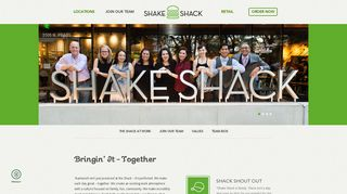 Join Our Team - Shake Shack