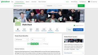 Shake Shack Employee Benefits and Perks   Glassdoor