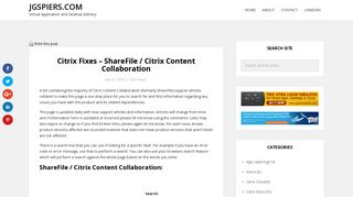 Citrix Fixes – ShareFile / Citrix Content Collaboration – JGSpiers.com