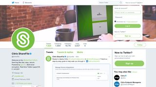 Citrix ShareFile (@sharefile) | Twitter