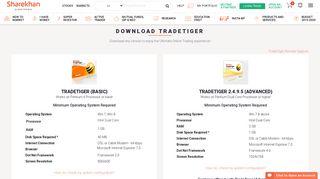 Download TRADETIGER – Sharekhan