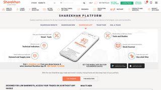 Share Mobile App   Mobile Share Trading App - Sharekhan