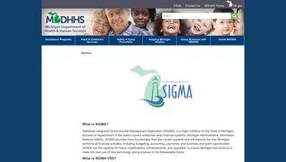 sigma - State of Michigan