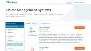 Best Visitor Management Systems | 2019 Reviews of the Most Popular ...
