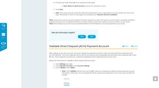 Set Up Direct Deposit (ACH) Payment Account | ACTIVEWorks ...