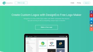 DesignEvo: Free Logo Maker, Create Custom Logo Designs Online
