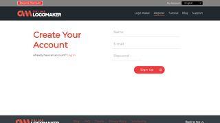 Registration - Online Logo Maker