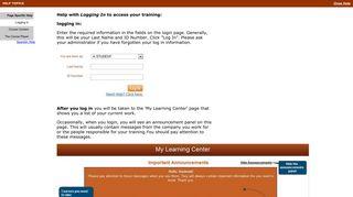Login Help - Silverchair Learning