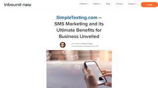 SimpleTexting.com - SMS Marketing and its Ultimate Benefits for ...