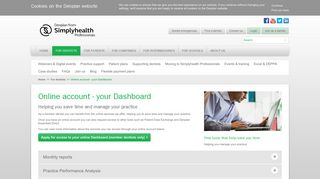 Online account - your Dashboard | Denplan by Simplyhealth ...
