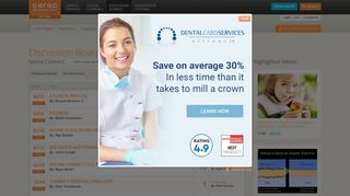 CEREC Doctors - Discussion Boards - Sirona Connect
