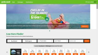 Cheap Flights with Air New Zealand's grabaseat - home of cheap ...