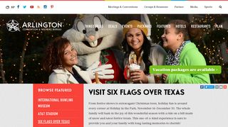 Six Flags Over Texas | Theme Parks in Arlington, TX