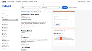 Zaxby Jobs, Employment in Smyrna, GA | Indeed.com