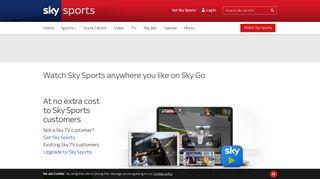 Sky Go | Sky Sports