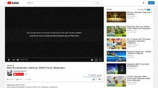Meet the Skylanders: Wind-Up l SWAP Force l Skylanders - YouTube