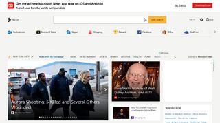 MSN | Outlook, Office, Skype, Bing, Breaking News, and Latest Videos