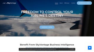 Airline Management Software & Airline Solutions [SkyVantage]
