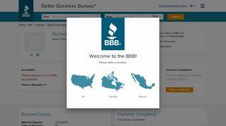 SkyVantage Corporation   Better Business Bureau® Profile