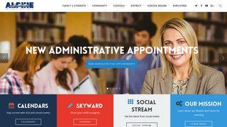 Alpine School District – Helping students in K-12 public schools ...