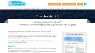 SmartFreight Link | Orchid Systems