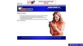SMSLISTO | Cheap SMS