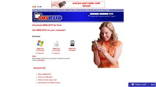 Download | SMSLISTO | Cheap SMS