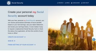 my Social Security   Social Security Administration