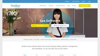 Spa Software | Spa Booking System - Booker