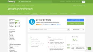 Booker Software Reviews - Ratings, Pros & Cons, Analysis and more ...