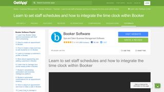 Learn to set staff schedules and how to integrate the time clock within ...