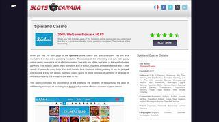 Spinland Casino - 200% Welcome Bonus + 50 Spins Bonus