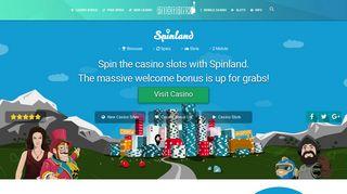 Spinland Casino - Get the best casino bonus & free spins - Slotsia