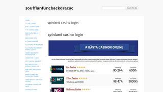 spinland casino login - soufflanfuncbackdracac - Google Sites