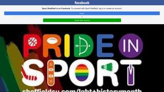 Sport Sheffield - Home | Facebook - Facebook Touch