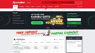 Online Sports Betting Kenya & Live Betting Odds at Sportybet.com