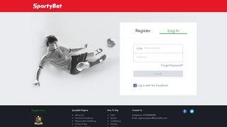 login - SportyBet