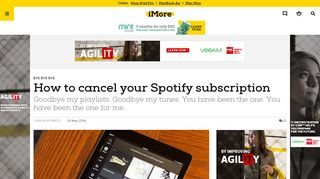 How to cancel your Spotify subscription   iMore