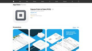 Square Point of Sale (POS) on the App Store - iTunes - Apple