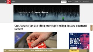 CRA targets tax-avoiding merchants using Square payment system ...