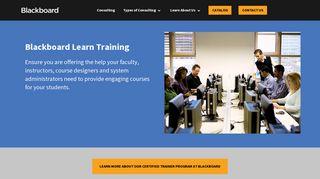 Blackboard Learn Training   Blackboard