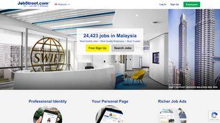 JobStreet.com | Malaysia no.1 Jobs, Vacancies and Career site