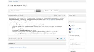 How do I login to D2L? - LibAnswers